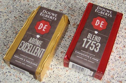 2 Douwe Egberts Luxe Filterkoffies