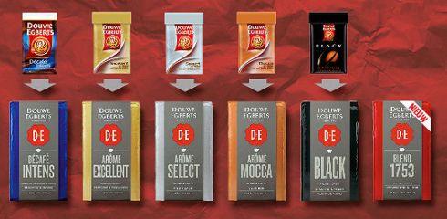De Douwe Egberts Luxe Filterkoffie Reeks