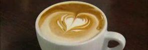 Koffie met Schuim Hartje
